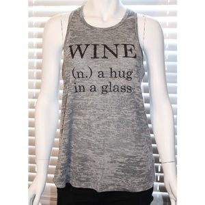 Tops - Women's wine active tank top